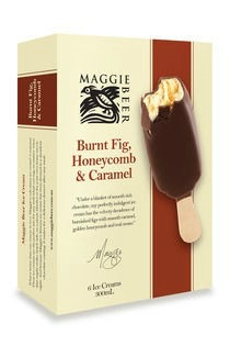 Maggie Beer's most popular ice creams flavours are now available in ...