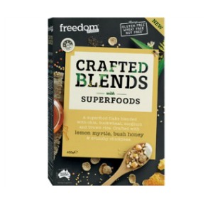 Freedom Foods Crafted Blends