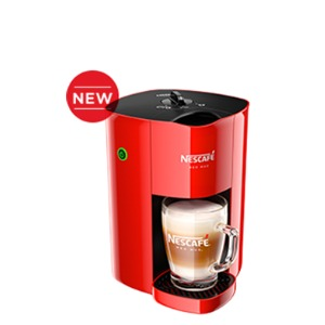 The Grocery Geek Nescafe Red Mug Instant Coffee Machine