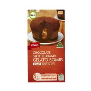 in 2 flavours chocolate hazelnut a creamy chocolate hazelnut gelato ...
