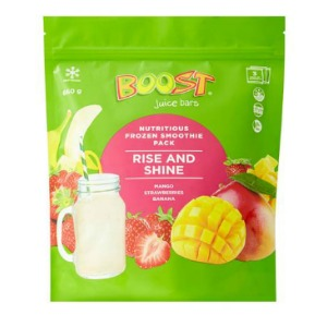 Boost - Frozen Smoothie Pack - Rise and Shine