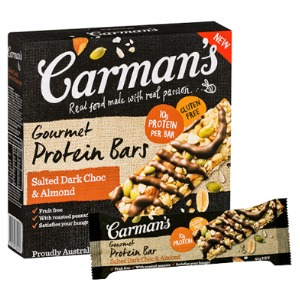 The Grocery Geek | Carman's – Gourmet Protein Bars ...