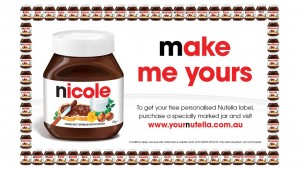 Nutella - Make Me Yours Promo