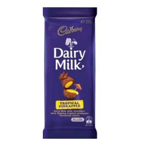 News: cadbury dairy milk tropical pineapple – consumable. Com. Au.