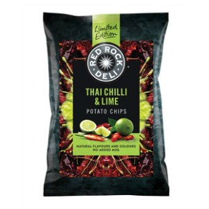 Red Rock Deli Limited Edition Chips New Flavours The