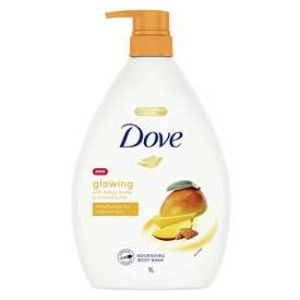 Dove Nourishing Body Wash Glowing With Mango Butter Almond Butter The Grocery Geek